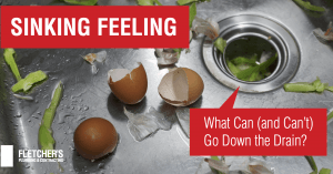 What Can & Can't Go Down the Kitchen Drain?